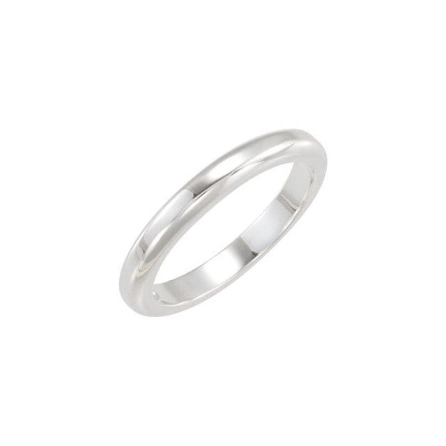 CWEB Sterling Silver Stackable Band