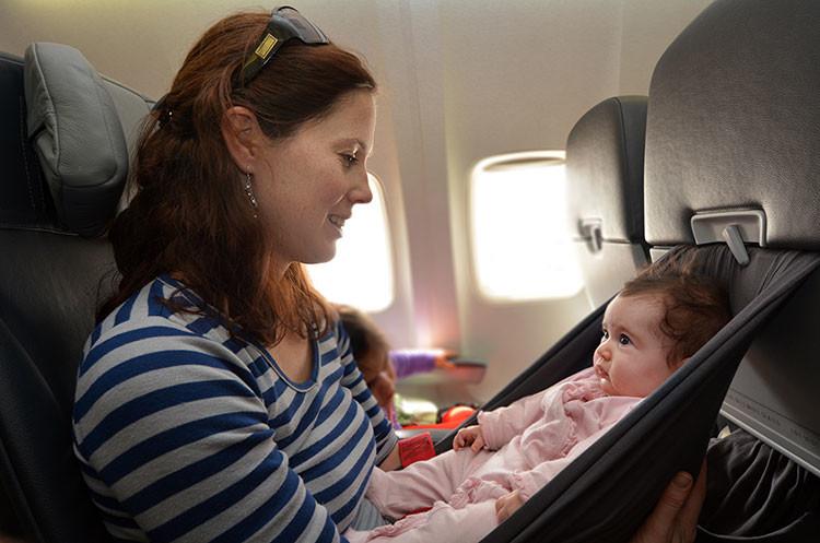 Infant air travel